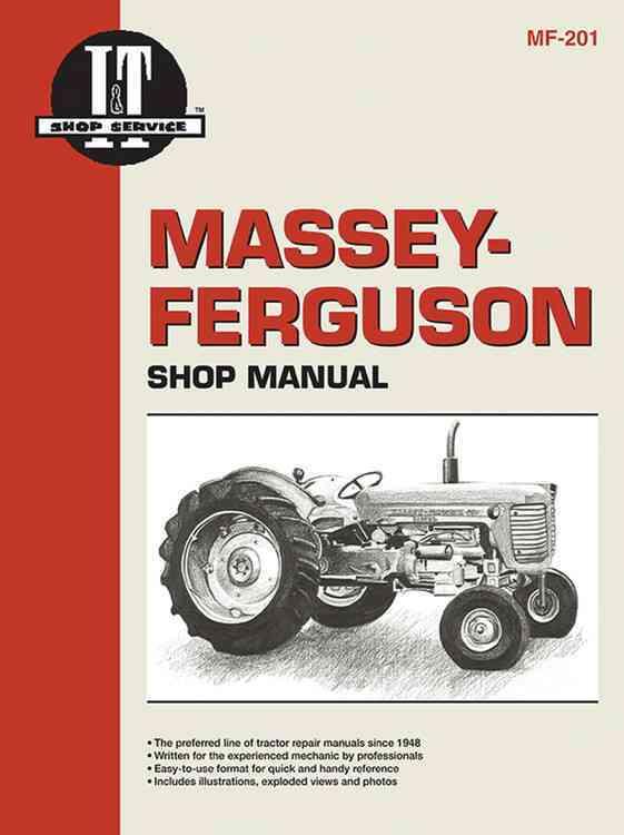 Massey Ferguson Shop Manual Mf-201